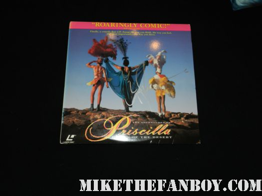 guy pearce signed autograph priscilla queen of the desert poster promo laser disc australian promo hot sexy drag queen