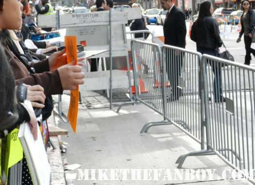 a beautiful day on hollywood blvd. the crowd waiting at the avengers world movie premiere fan barricades on the red carpet with chris hemsworth chris evans samuel l jackson and more