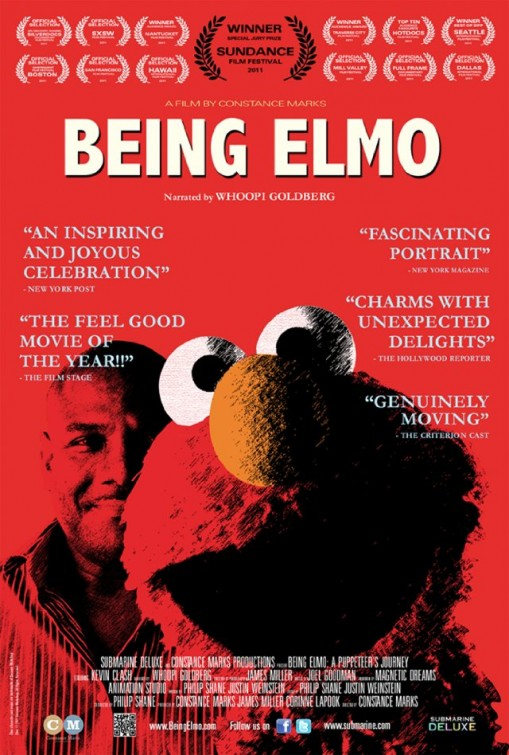 being_elmo_a_puppeteers_journey rare promo one sheet movie poster promo kevin clash klash rare sesame street