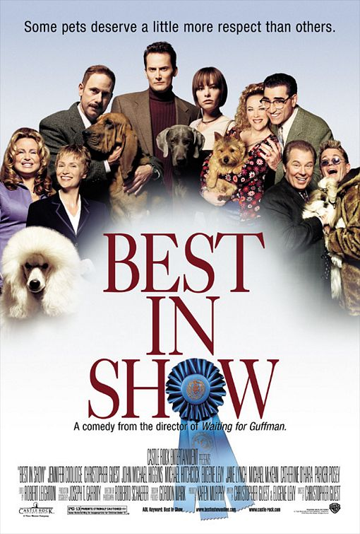best_in_show rare promo one sheet movie poster promo catherine o'hara eugene levy michael mckean