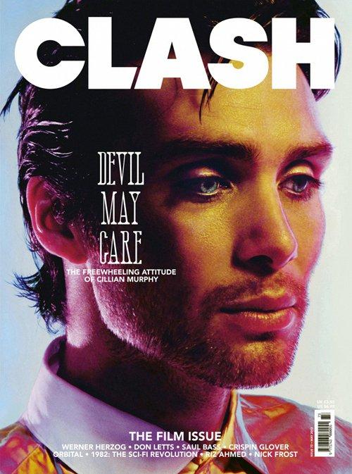 cillian-murphy-clash magazine cover rare hot sexy photo shoot rare promo red eye inception sunshine tron legacy rare promo