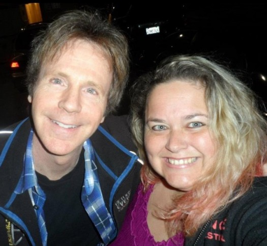 pretty in pinky taking a fan photo with saturday night live church lady dana carvey rare promo the master of disguise wayne's world