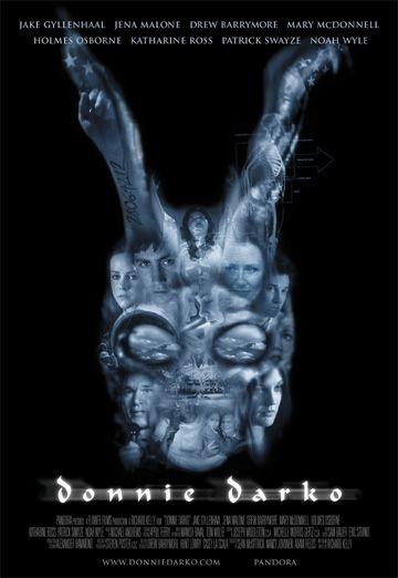 donnie_darko_ver1 one sheet movie poster promo drew barrymore jake gylenhaul hot sexy patrick swayze