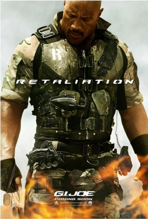 gi_joe_retaliation_ver3 the rock rare individual character one sheet movie poster promo g.i. joe hot sexy the rock
