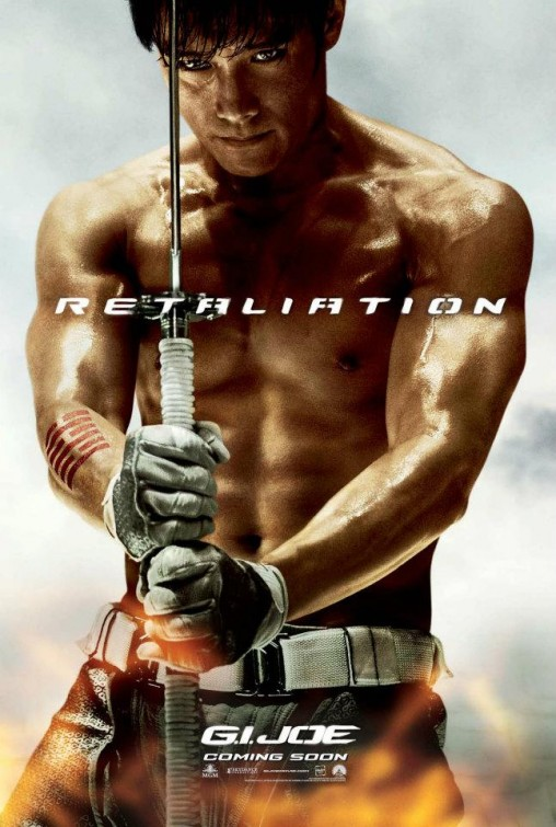 gi_joe_retaliation_ver5 Byung-hun Lee sexy muscle shirtless promo one sheet movie poster promo shirtless asian g.i. joe movie poster storm shadow