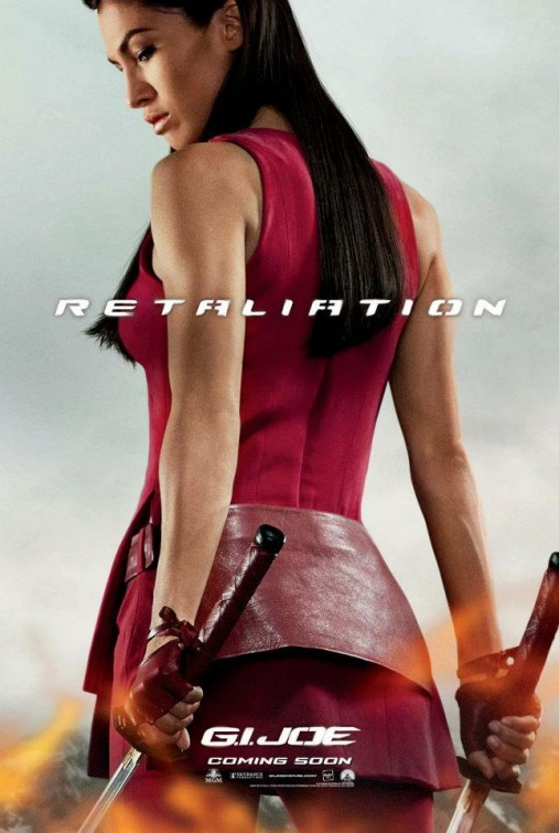 gi_joe_retaliation_ver6 Elodie Yung jinx rare promo individual promo one sheet movie poster g.i. joe retaliation hot sexy women with swords