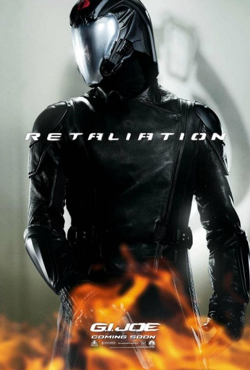 gi_joe_retaliation_ver7 Faran Tahir rare promo one sheet movie poster cobra commander hot individual promo poster one sheet
