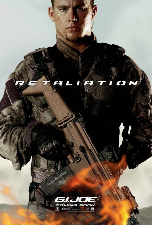 gi_joe_retaliation_ver8 channing tatum duke individual one sheet promo movie poster hot sexy jock with guns muscle stud rare g.i. joe retaliation