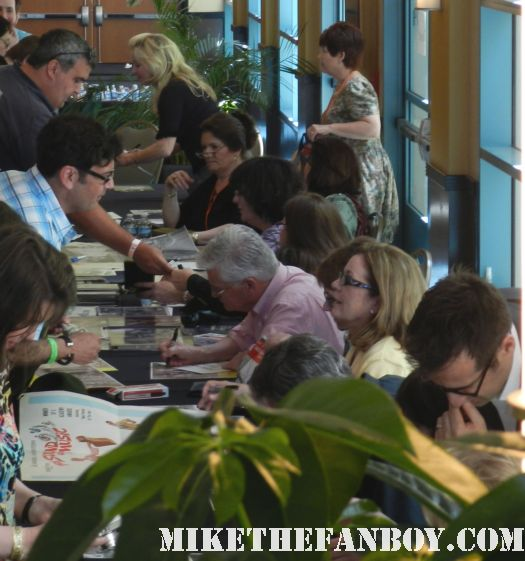 the sound of music reunion at the hollywood collector's show von trapp kids signing autographs for fans
