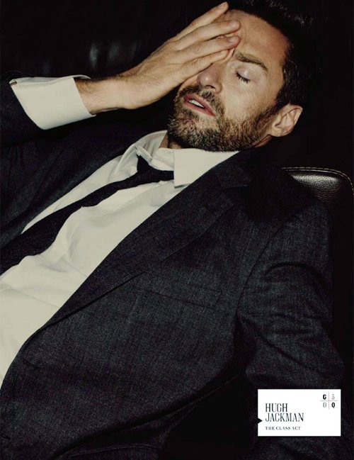 hugh-jackman-gqaus hugh jackmas is sexy and hot on the cover of GQ Australia april may 2012 magazine cover rare promo