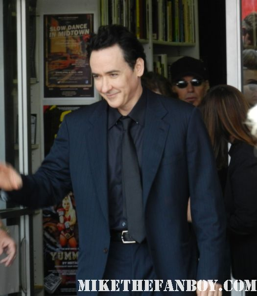 john cusack arriving to john cusack's walk of fame star ceremony on hollywood blvd