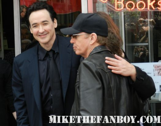 john cusack and billy bob thornton arriving to john cusack's walk of fame star ceremony on hollywood blvd