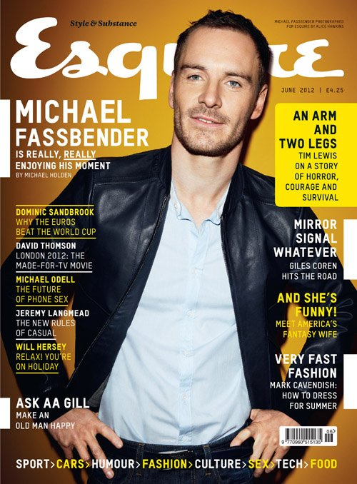 michael-fassbender-esquire-uk sexy hot rare magazine cover promo photo hot sexy shame prometheus star rare promo michael fassbender photo shoot promo rare sex