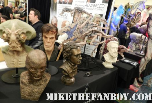 creatures and demons at monsterpalooza 2012 convention floor rare promo species demon rare promo