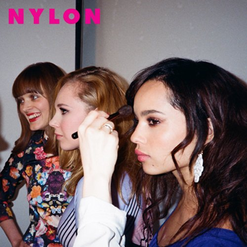 Zoe Kravitz, Juno Temple and Bella Heathcote  cover the may 2012 issue of nylon magazine hot sexy rare photo shoot magazine cover promo hot sexy