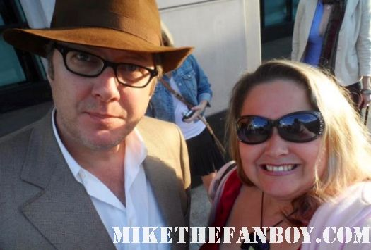 pretty in pinky from mike the fanboy with pretty in pink star james spader steff signed autograph rare fan photo