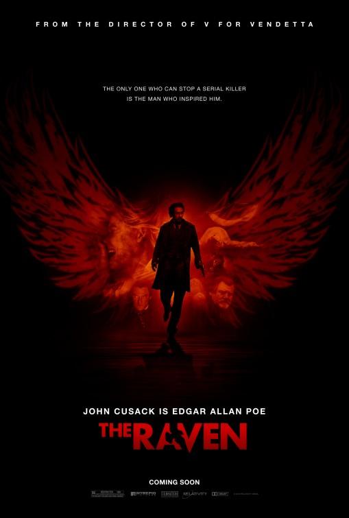 the raven rare promo one sheet movie poster john cusak hot sexy edgar allen poe promo poster