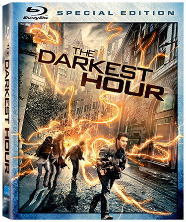 the darkest hour blu ray dvd cover rare promo Starring Emile Hirsch, Max Minghella and Olivia Thirlby