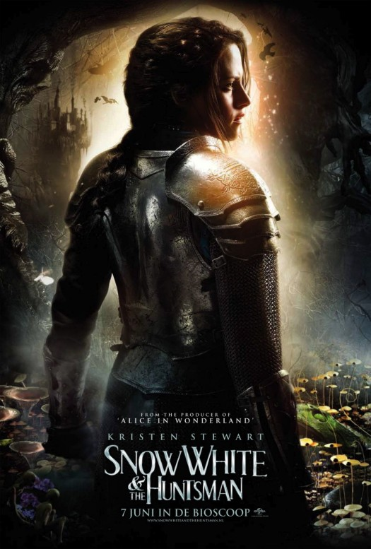 kristen stewart snow white and the huntsman rare british character individual movie poster promo