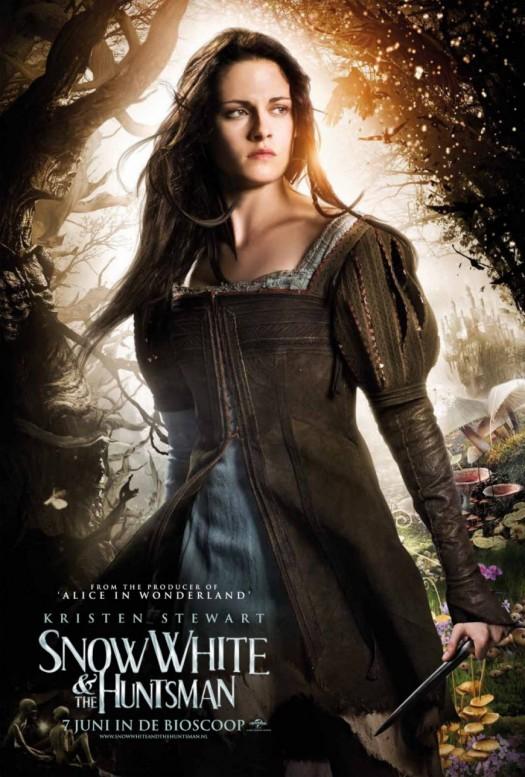 kristen stewart snow white and the huntsman rare british character individual movie poster promo