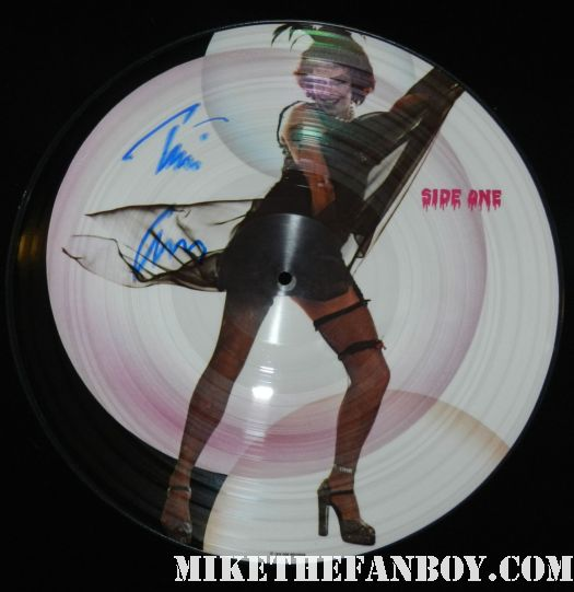 tim curry signed autograph rocky horror picture show original soundtrack picture disc frank n furter hot