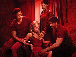 true-blood-season-5-premiere-date stephen moyer anna paquin alexander skarsgard entertainment weekly press promo still hot sexy rare