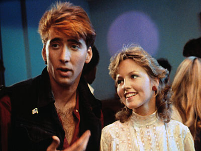 nicholas cage in a press promo still from valley girl rare 1980s classic film rare promo hot sexy young nicholas cage nic cage