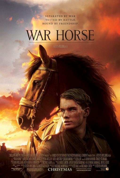 war_horse steven spielberg rare promo one sheet movie poster promo horse story rare hot