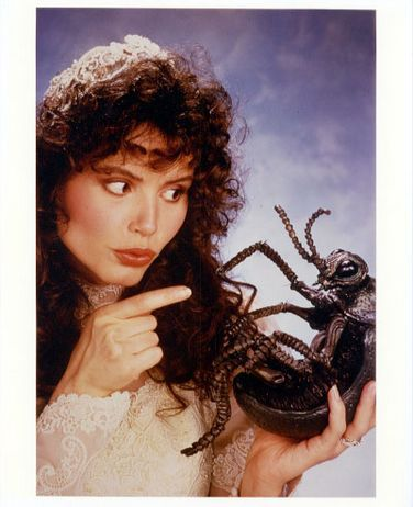 geena davis in a promo still from beetlejuice as barbara rare promo time burton press hot sexy academy award winner