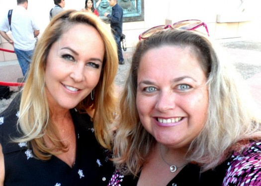 mike the fanboy writer pinky lovely with bewitched star erin murphy tabitha from bewitched