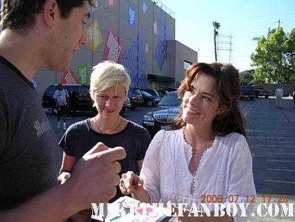 Mike the fanboy meeting party girl star parker posey after a talk show taping rare superman returns best in show a mighty wind