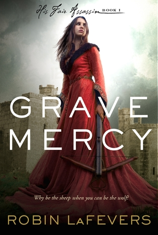 grave mercy by rachel leFevers Grave Mercy by Rachel LaFevers rare promo dust jacket book cover art rare promo hot sexy
