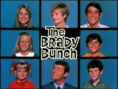 the brady bunch cast grid title grid the brady bunch logo rare promo florence henderson maureen mccormick christopher knight