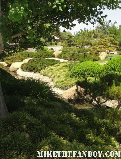 alias and star trek filming locations at the  Donald Tillman Japanese Gardens in van nuys california the filming location of Starfleet academy from Star Trek The Next generation star trek deep space nine