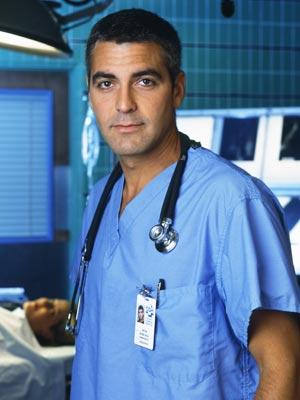 George-Clooney-ER rare press promo still hot sexy doctor on nbc hot friends rare promo press photo still