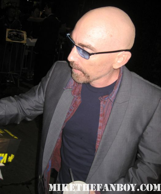 jackie earle haley signing autographs for fans at the dark shadows world movie premiere in hollywooddark shadows world movie premiere with johnny depp michelle pfeiffer tim burton red carpet rare chinese theatre