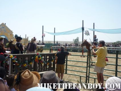 Jousting at the the Gates at the 50th Annual Renaissance Pleasure Faire – Irwindale, CA jousting captain america and more
