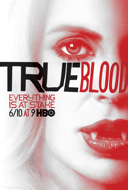 Kristin-Bauer-van-Straten-True-Blood vampire pam season 5 rare promo individual promo poster rare season 5 poster one sheet hbo promo