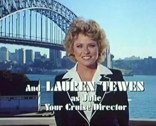 the love boar lauren tewes ship's director julie title card press promo the love boat