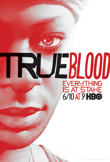 Nelsan-Ellis-of-True-Blood season 5 rare promo individual promo poster jessica lafayette rare season 5 poster one sheet hbo promo