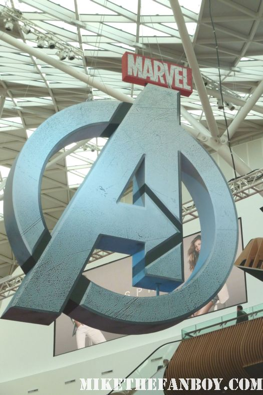 the avengers uk world movie premiere red carpet A avengers logo london movie premiere