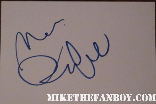 mark ruffalo signed autograph card at the avengers uk world movie premiere rare promo