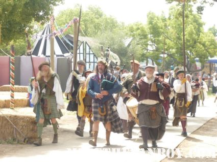 the Gates at the 50th Annual Renaissance Pleasure Faire – Irwindale, CA jousting captain america and more