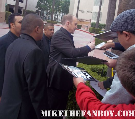boardwalk empire creator terence winter signing autographs for fans at the television academy event in north hollywood