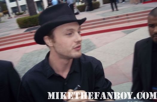 boardwalk empire star michael pitt signing autographs for fans at the television academy event in north hollywood fargo star rare promo hot