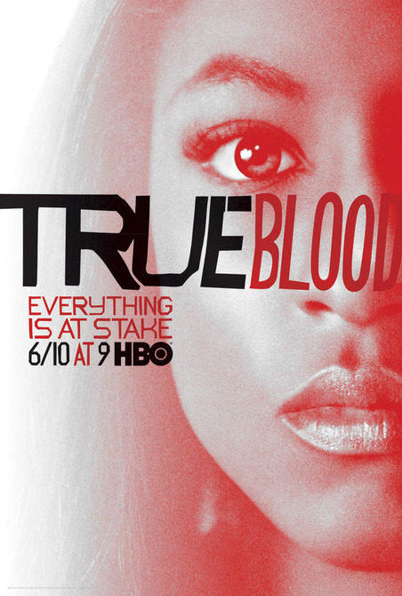 Rutina-Wesley tara True-Blood vampire pam season 5 rare promo individual promo poster rare season 5 poster one sheet hbo promo
