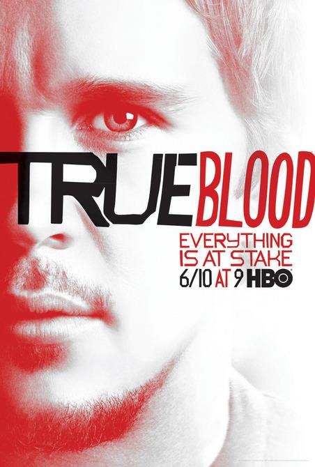 Ryan-Kwanten jason stackhouse True-Blood vampire pam season 5 rare promo individual promo poster rare season 5 poster one sheet hbo promo