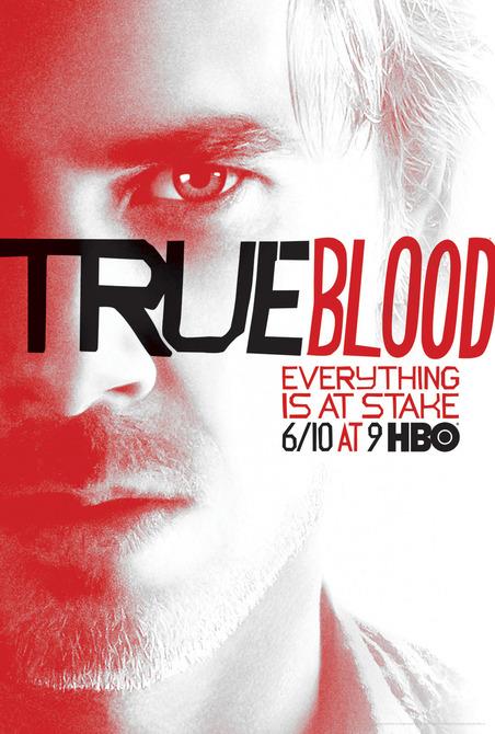 Sam-Trammell-sam merlotte True-Blood vampire pam season 5 rare promo individual promo poster rare season 5 poster one sheet hbo promo