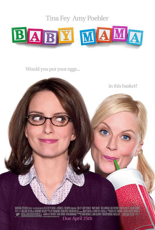 baby mama rare one sheet movie poster promo tina fey amy poehler rare comedy promo dvd