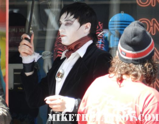 costumed characters on hollywood blvd dark shadows barnabas collins rare promo dark shadows premiere